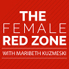 The Female Red Zone logo